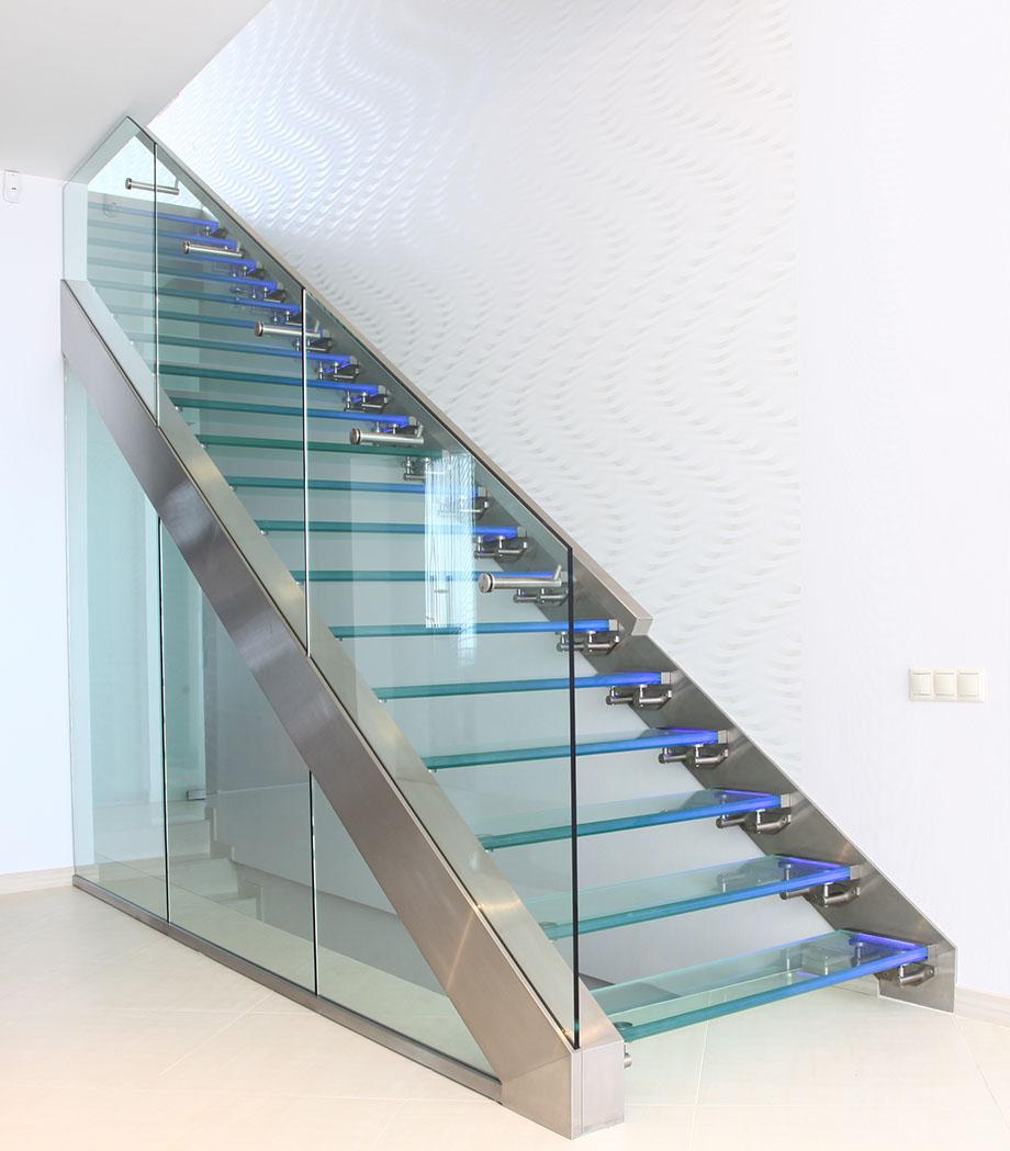 Exklusive Glastreppen bei Treppen.de • Ihre Treppe aus Glas